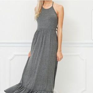 LAST 1! SM. Bellino Halter Maxi dress